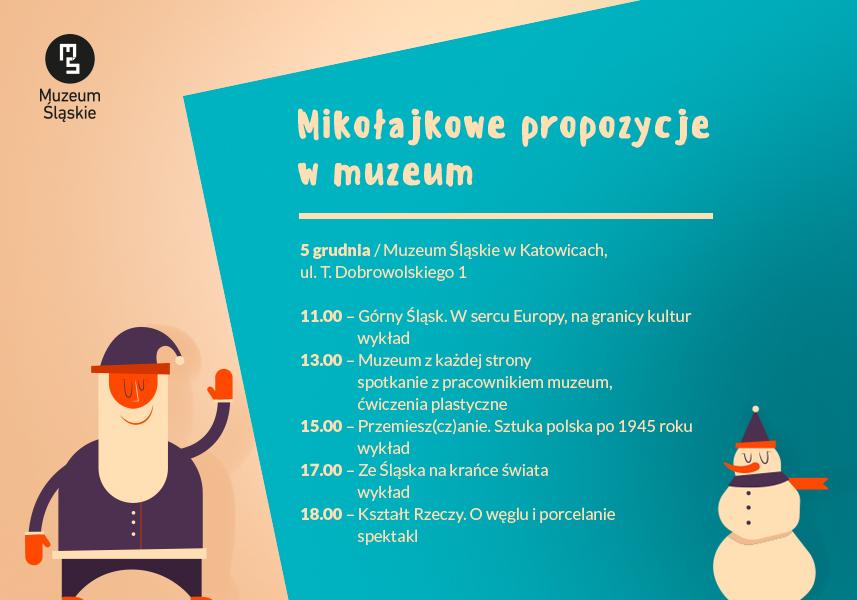 Mikołajkowe prezenty Muzeum Śląskiego